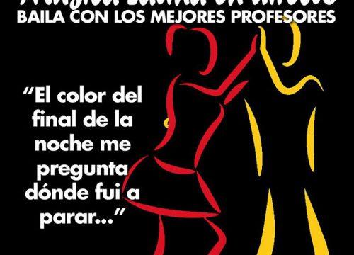 El color del final de la noche me pregunta dónde fui a parar... Que la luz del final de la noche te ilumine bailando... Música Latina en directo