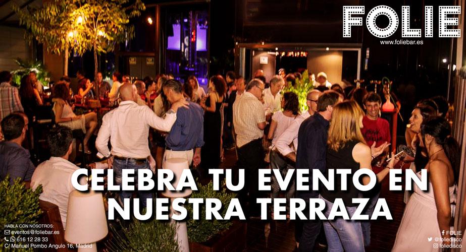 Celebra tu evento en nuestra terraza