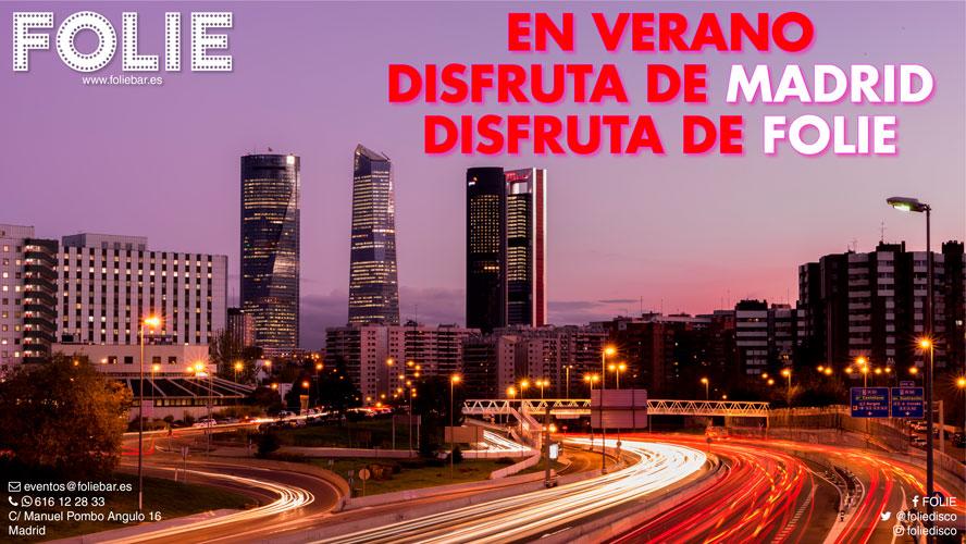 Disfruta de Madrid, disfruta de FOLIE